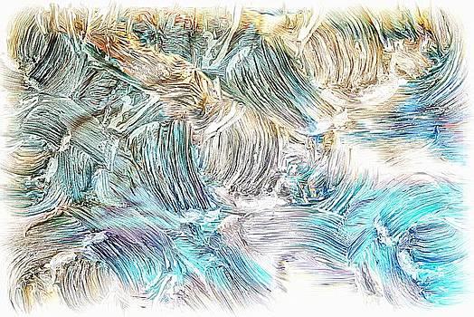 Blue palette by Athala Carole Bruckner