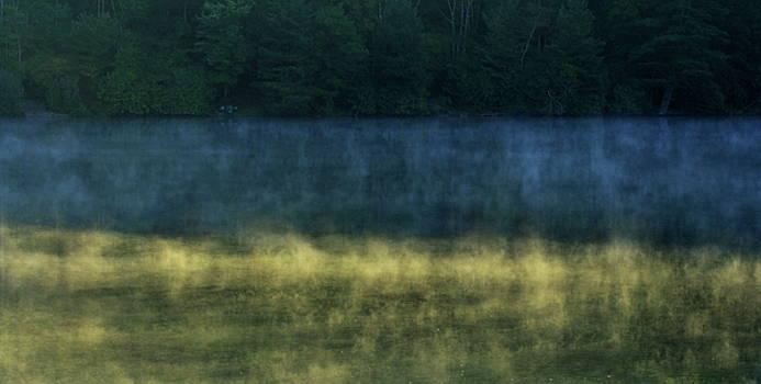 Blue Ridge Lake, Mist and Shadows by Charles Shedd