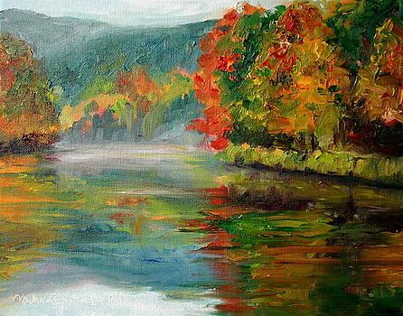 Blue Ridge Morning by Martha Layton Smith