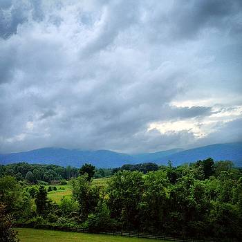 Blue Ridge Mountains by Anne Thurston