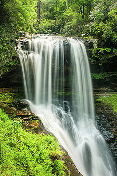 Blue Ridge Mountains NC Dry Falls Tranquility by Robert Stephens