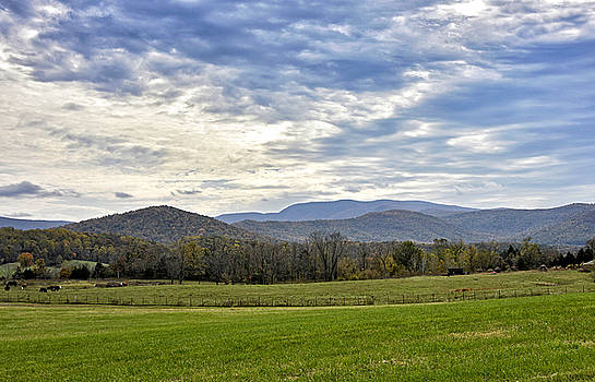Blue Ridge Mountains of Virginia by Brendan Reals