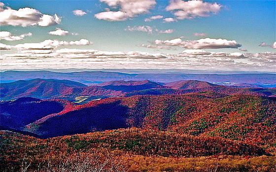 Blue Ridge of Virginia by E Robert Dee