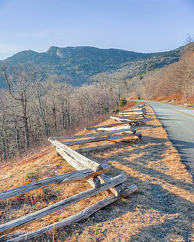 Blue Ridge Parkway and Grandfather Mountain by Ray Devlin