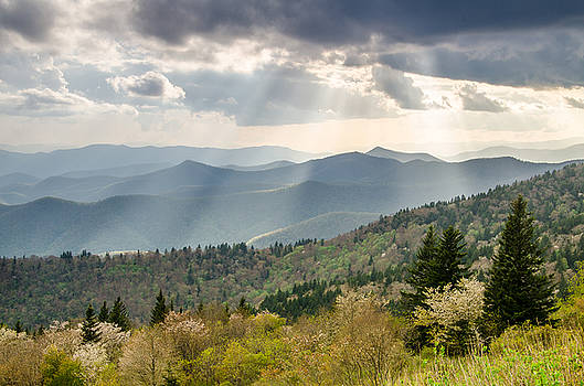 Blue Ridge Parkway NC Afternoon Delight by Robert Stephens