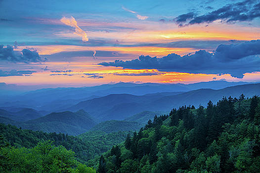 Blue Ridge Parkway NC The Aftermath by Robert Stephens