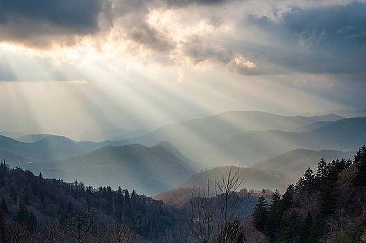 Blue Ridge Parkway NC The Light by Robert Stephens