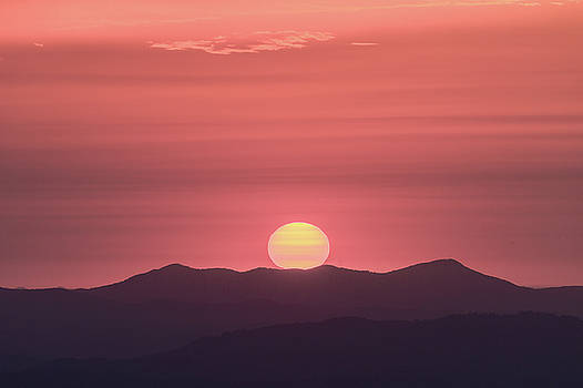 Blue Ridge Parkway Sunrise - a CLose View by Bill Swindaman