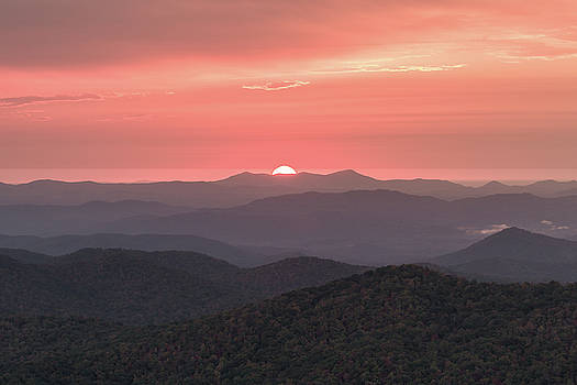 Blue Ridge Sunrise by Bill Swindaman