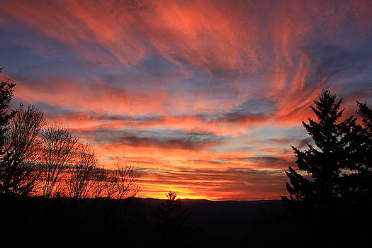Blue Ridge Sunset by Michael Weeks