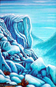 Blue Rocks by Barbara Stirrup
