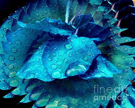 Blue Rose Flower by Smilin Eyes  Treasures