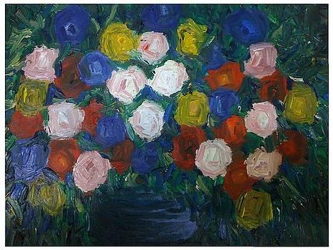 Blue Roses by Aida Behani