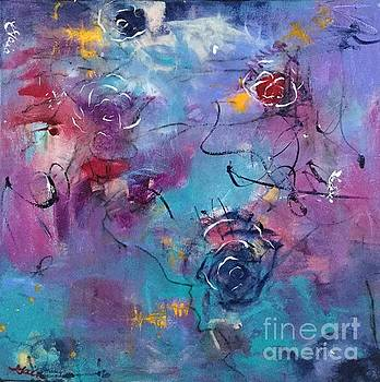 Blue Roses by Gail Butters Cohen