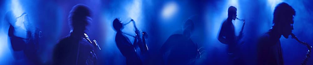 Blue Sax by Mark Wagoner