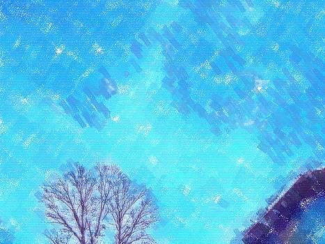 Blue Skies over Tree by Skyler Tipton