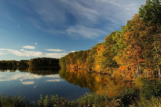 Blue Sky and Autumn by Amanda Kiplinger