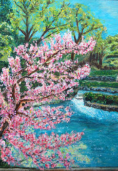 Blue Spring by Carolyn Donnell