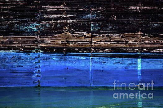 Blue Tanker by Doug Sturgess