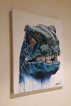 Blue the Raptor by Kim McWhinnie
