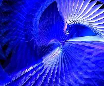 Blue tunnel by Libor Bednarik