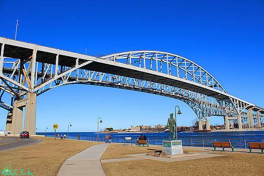 Blue Water Bridge by Michael Rucker