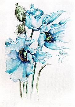 Blue Wind by Anna Ewa Miarczynska