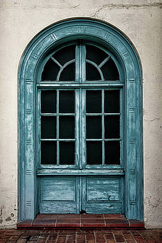 Blue Window by Steven Michael