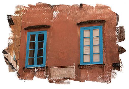Blue windows by Jim Wright