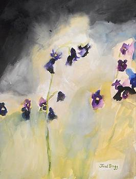 Bluebells and Pansies by Janel Bragg