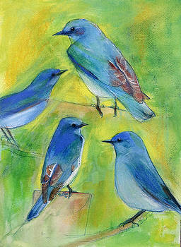 Bluebird Boys by Pam Little