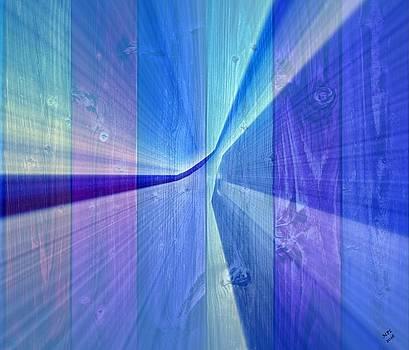 Blueish  by Marian Palucci-Lonzetta