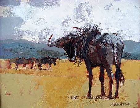 Bluewildebeest by Alida Bothma