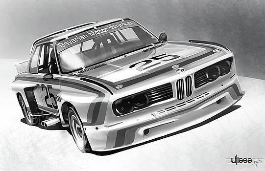 BMW M Series 3.5 CSL by Uli Gonzalez