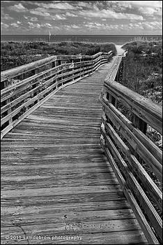 samdobrow  photography - Boardwalk at Key Biscayne