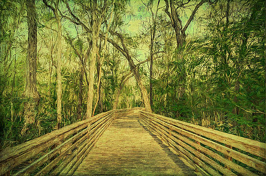 Boardwalk by Lewis Mann