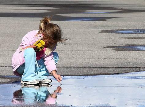 Boardwalk Reflection by Tanya Keefe