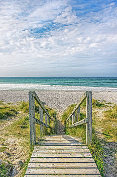 Boardwalk To The Beach by Tylie Duff