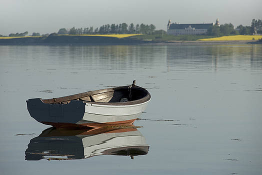 Robert Lacy - Boat and reflection