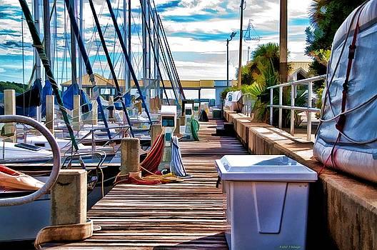 Boat Dock by Deborah