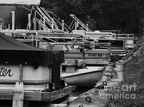 Boat Dock by J L Zarek