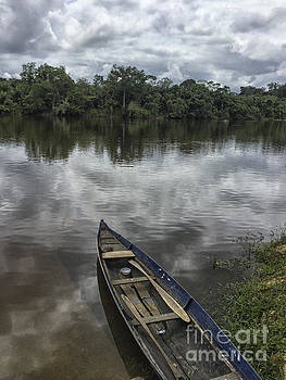 Patricia Hofmeester - Boat in a river