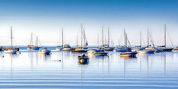 Christopher Arndt - Boat Reflections Panorama