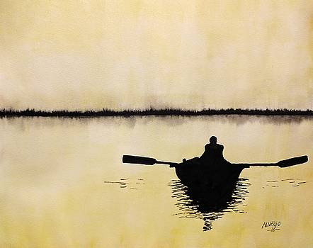 Boat Sunlight  by Edwin Alverio