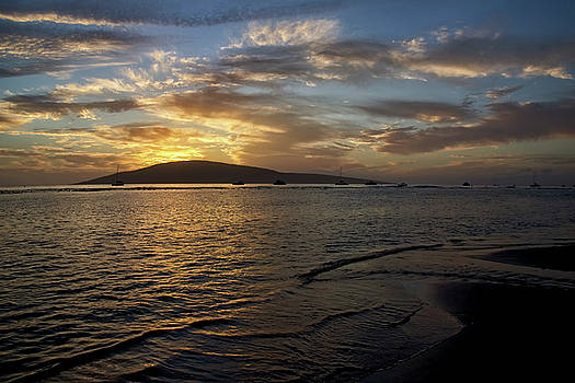 Boat Sunset by Steven Michael