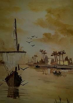 Boat  by Zak Eissa