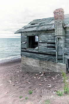 Boathouse Relic on Lake Superior by Natural Focal Point Photography