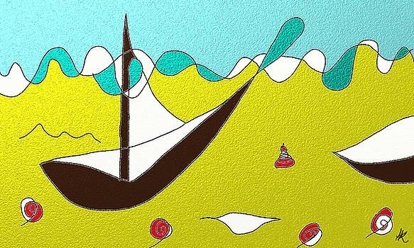 Boats by Agnes Karcz