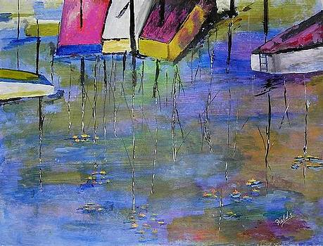 Boats at Rest by RQ Fields