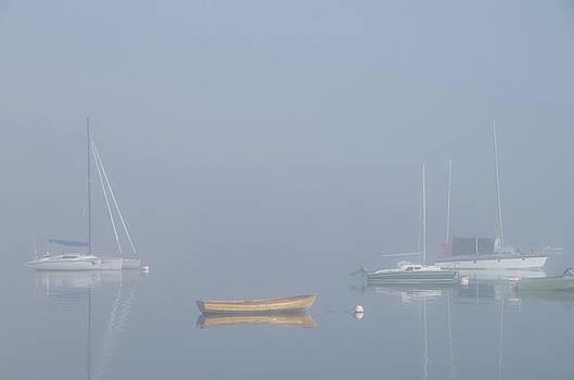 Boats in Fog by Marilyn Wilson